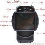 1080P 30fps GPS Logger Support IR Night Vision G-Sensor Car DVR 6