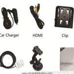 1080P 30fps GPS Logger Support IR Night Vision G-Sensor Car DVR 9