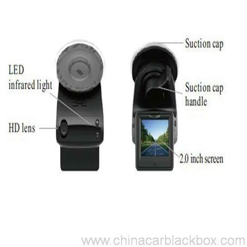 1080p car video registrator with radar detector 3