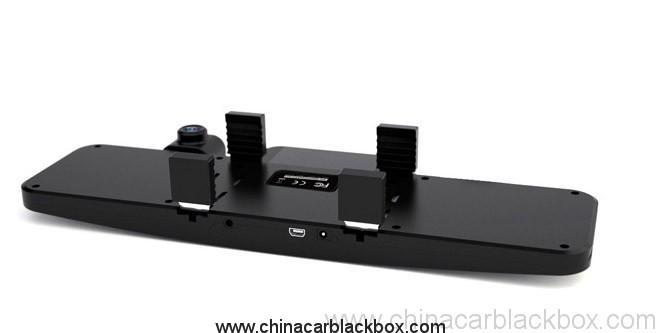 4.3 inch screen Dual-lens full hd rearview mirror car dvr 3