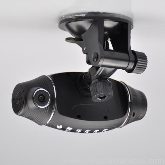 Dual lens car dvr blackbox With gps logger 150 Degree Wide Angle Lens 2