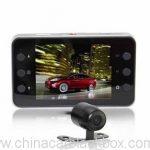 Metal Case HD 720P Dual Lens Car DVR 2