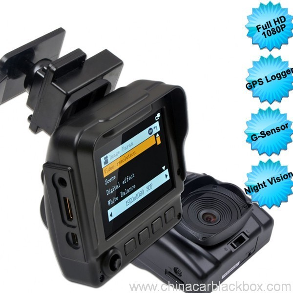 Night Vision Car DVR Recorder with Ambarella