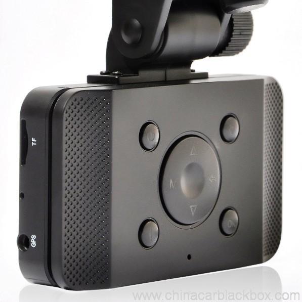 Slide Car DVR 1080P 30FPS HD Camera GPS G-Sensor Password 2