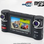 2.7 Inch Dual Camera Car Video Record