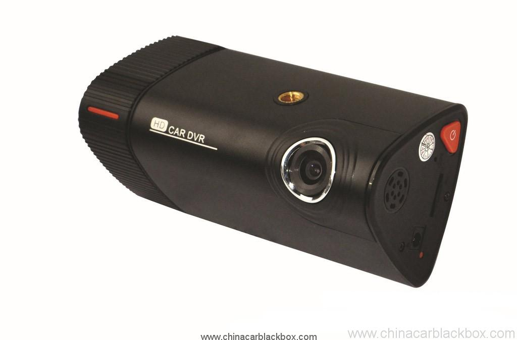 Dual Camera Car Blackbox DVR With 3 Inch Touchscreen GPS Logger And 3D G-Sensor 2