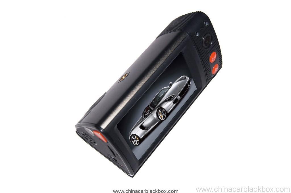 Dual Camera Car Blackbox DVR With 3 Inch Touchscreen GPS Logger And 3D G-Sensor 4