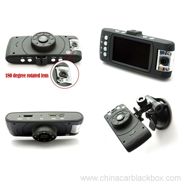 SOS 1080P Full HD Dual Cameras/Lens Figure Tachograph Car DVR 2