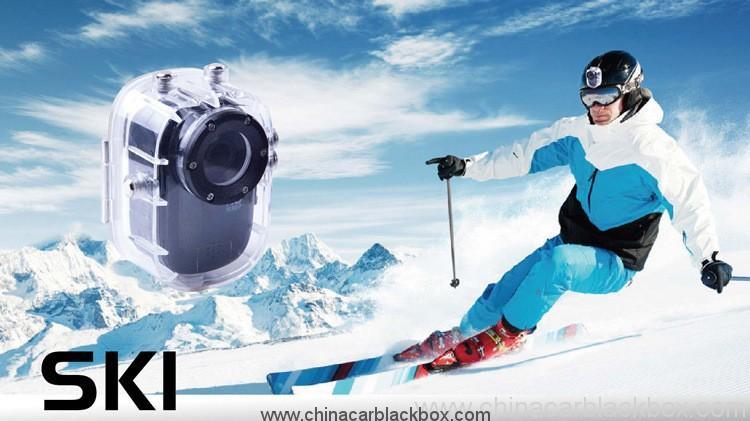 1.5 Inch LCD Waterproof 30M 1080P Sports HD Mini DV 3