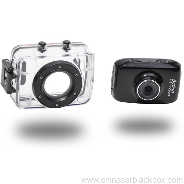 720p Waterproof HD Sports Action Camera 2.0 inch touch screen