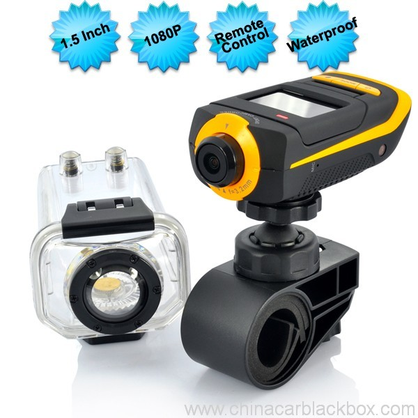Full HD 1080P Extreme Sports Action Camera with Waterproof Case 5