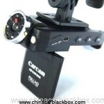 1080p rotatable LCD night vision car dvr