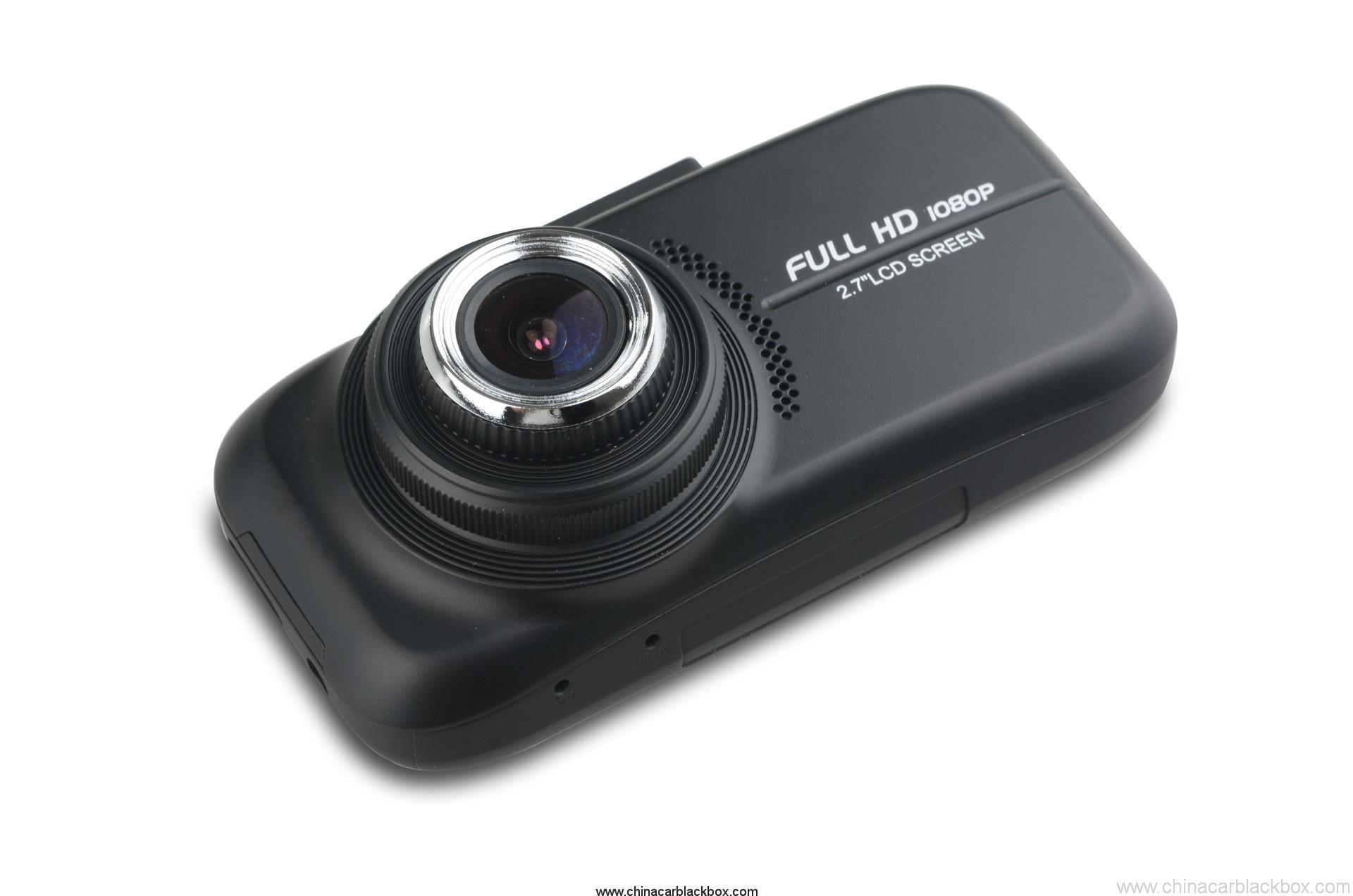 2.7 inch TFT 1080p Car Black box with GPS 2