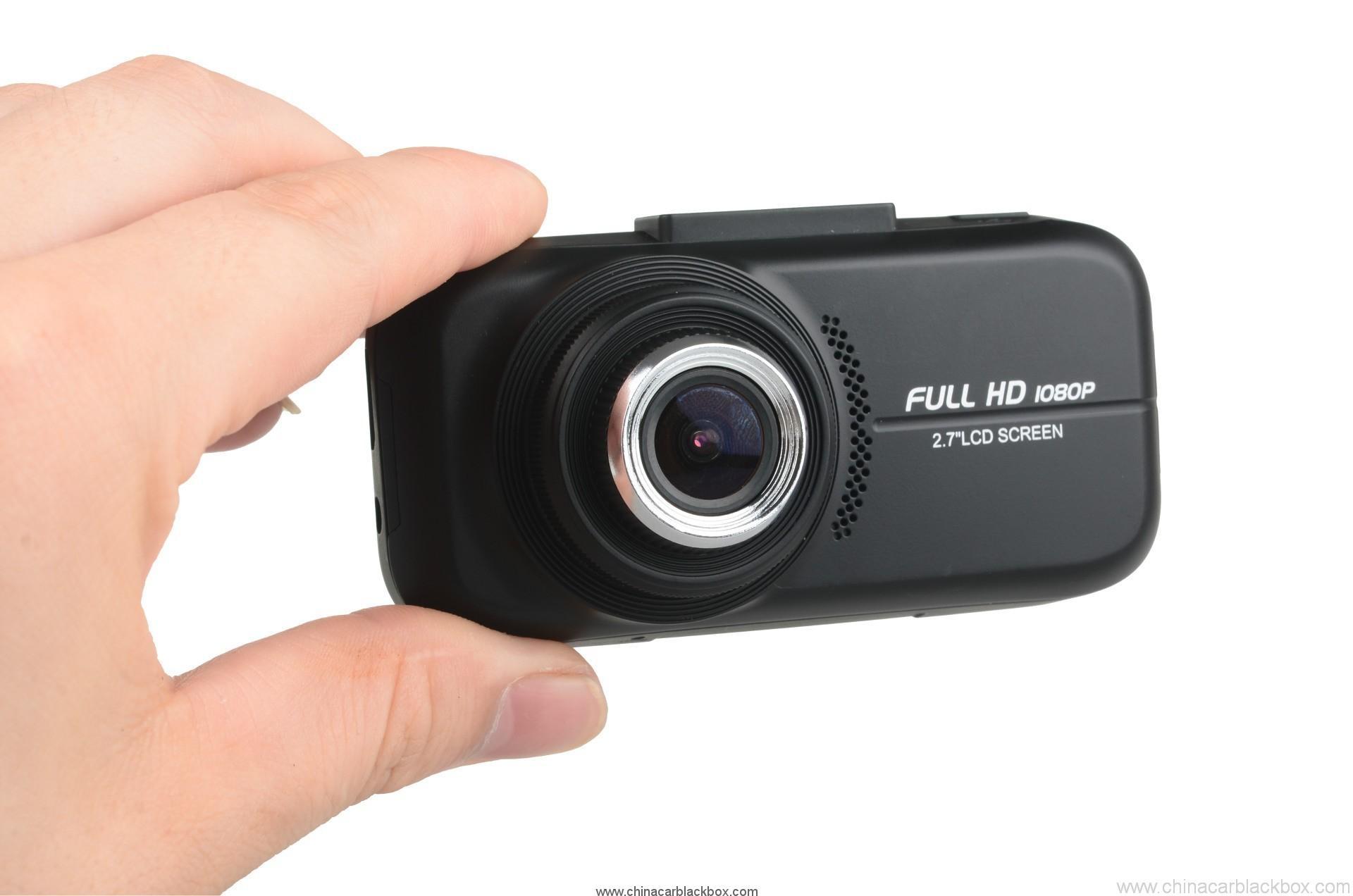 2.7 inch TFT 1080p Car Black box with GPS 4