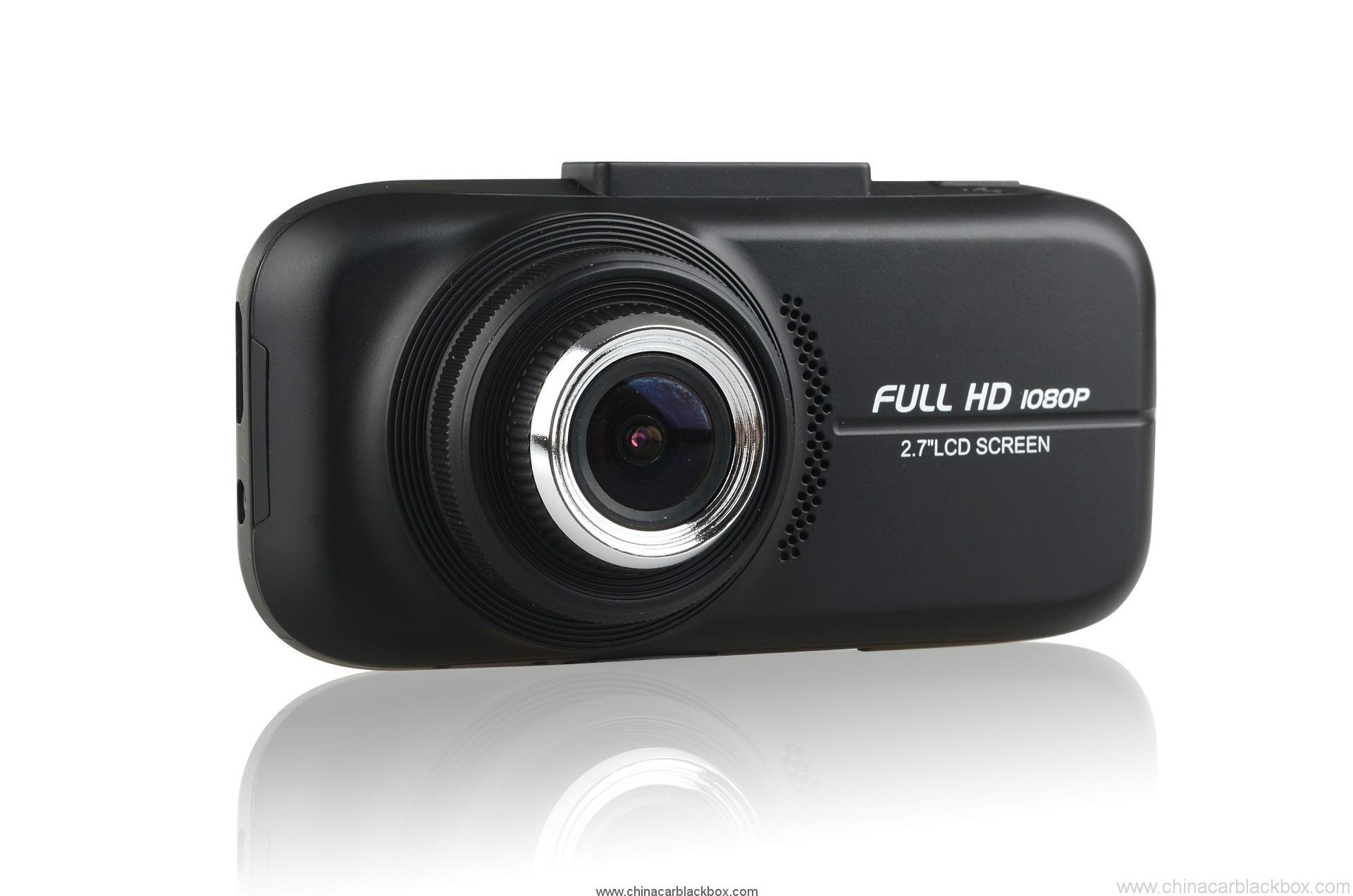 2.7 inch TFT 1080p Car Black box with GPS 6