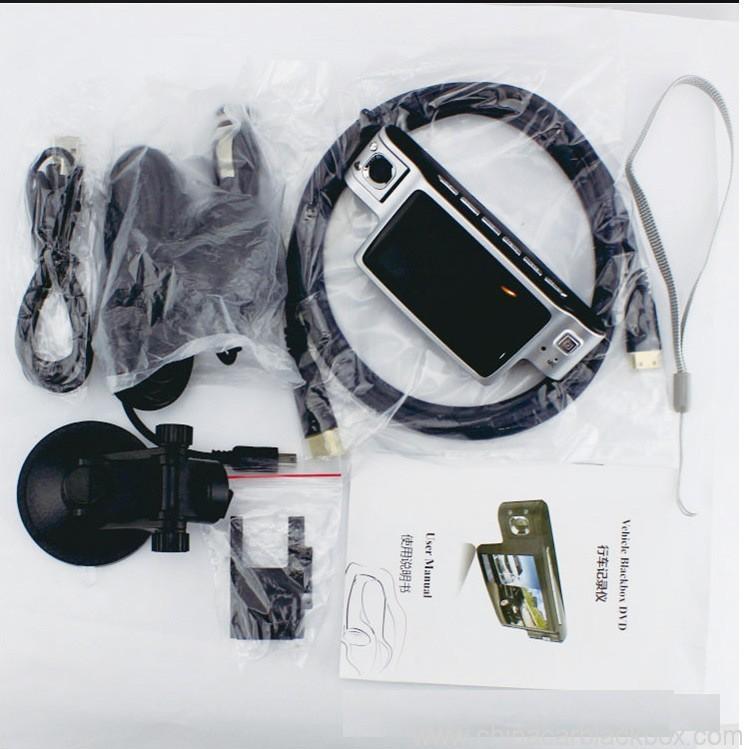 720p dual camera car black box 4