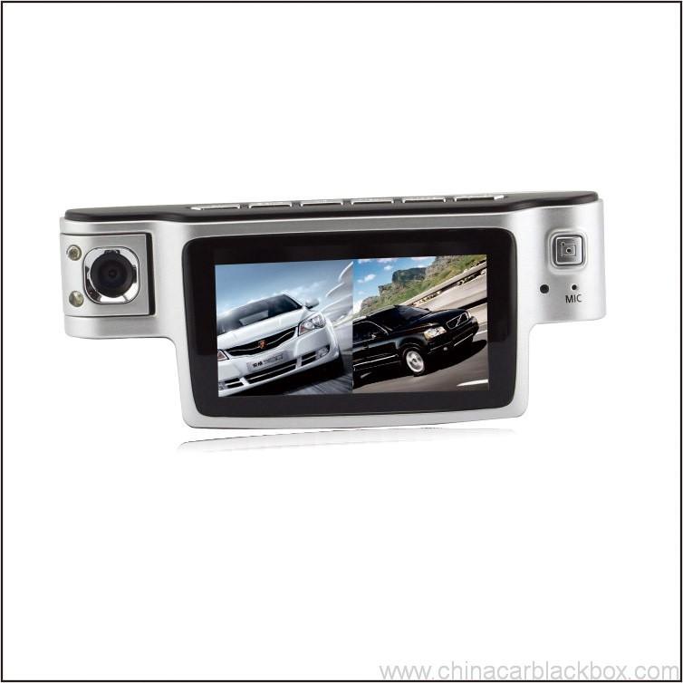 720p dual camera car black box