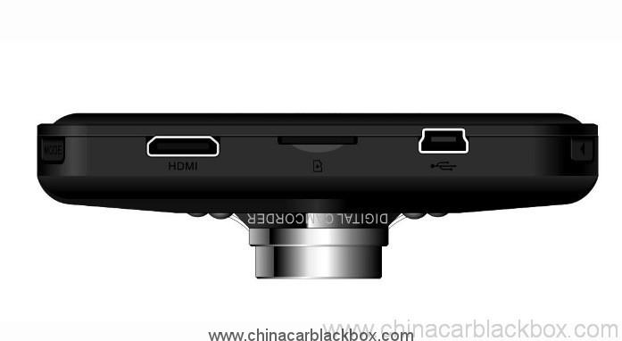 Full HD 1080P Wide angle car dvr with hdmi out 4