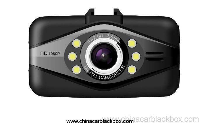 Full HD 1080P Wide angle car dvr with hdmi out