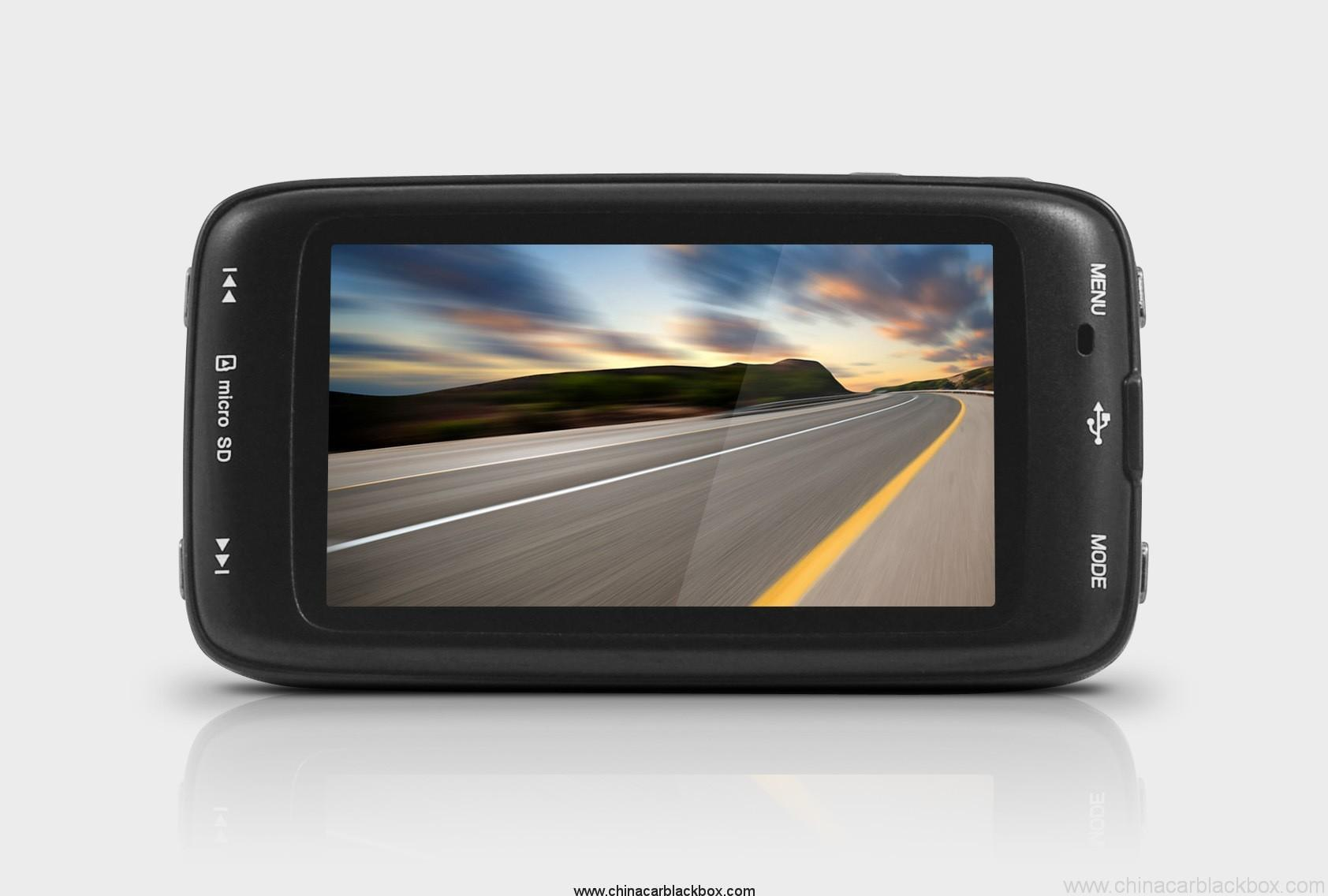HD 1080P 170 degree Viewing Angle Car DVR with Built-in G-sensor 5