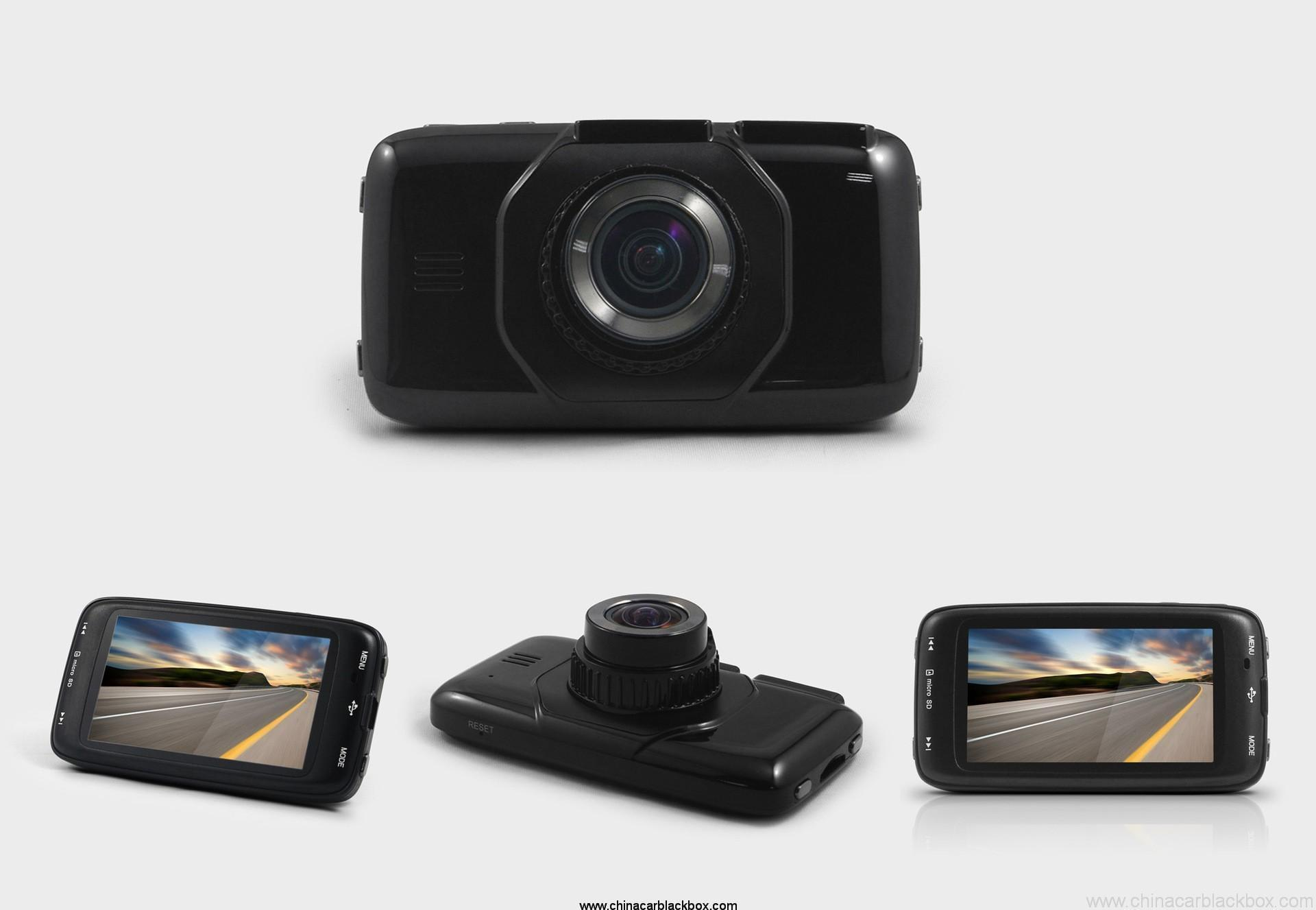 HD 1080P 170 degree Viewing Angle Car DVR with Built-in G-sensor
