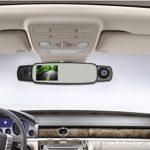 Three cameras Omnibearing shooting rearview mirror car black box 7