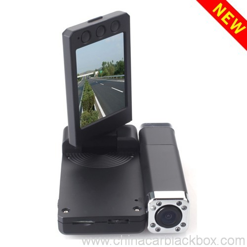 1080p dual camera night vision traffic recorder 5