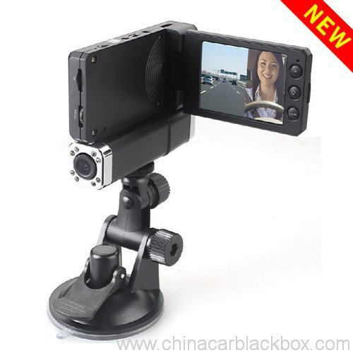 1080p dual camera night vision traffic recorder 6