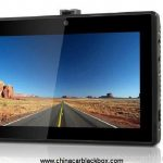 3 camera 5 inch LCD multi-function car dvr