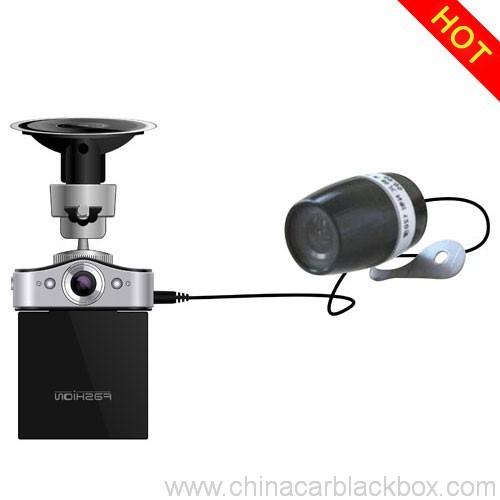 Dual camera night vision Car DV Driving Black Box 4