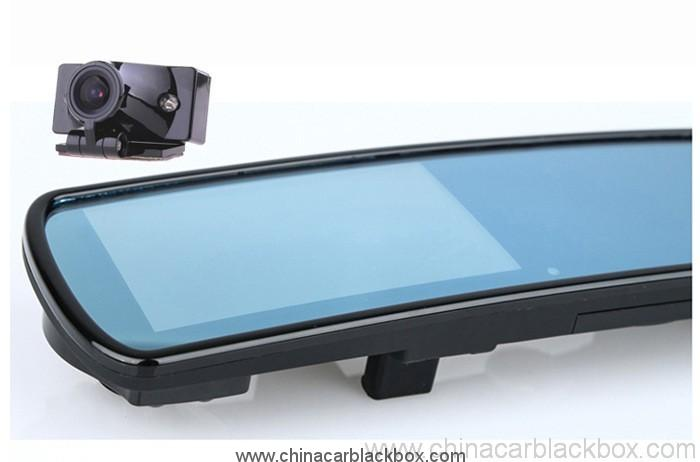 Separate dual lens HD rearview mirror car black box 5