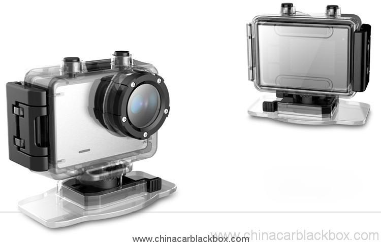 Waterproof g-sensor 1080p dvr for outdoor sports 4