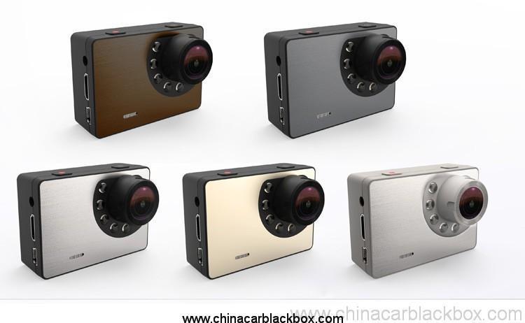 Waterproof g-sensor 1080p dvr for outdoor sports