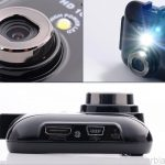 Touch screen 1080p Car DVR recorder 3