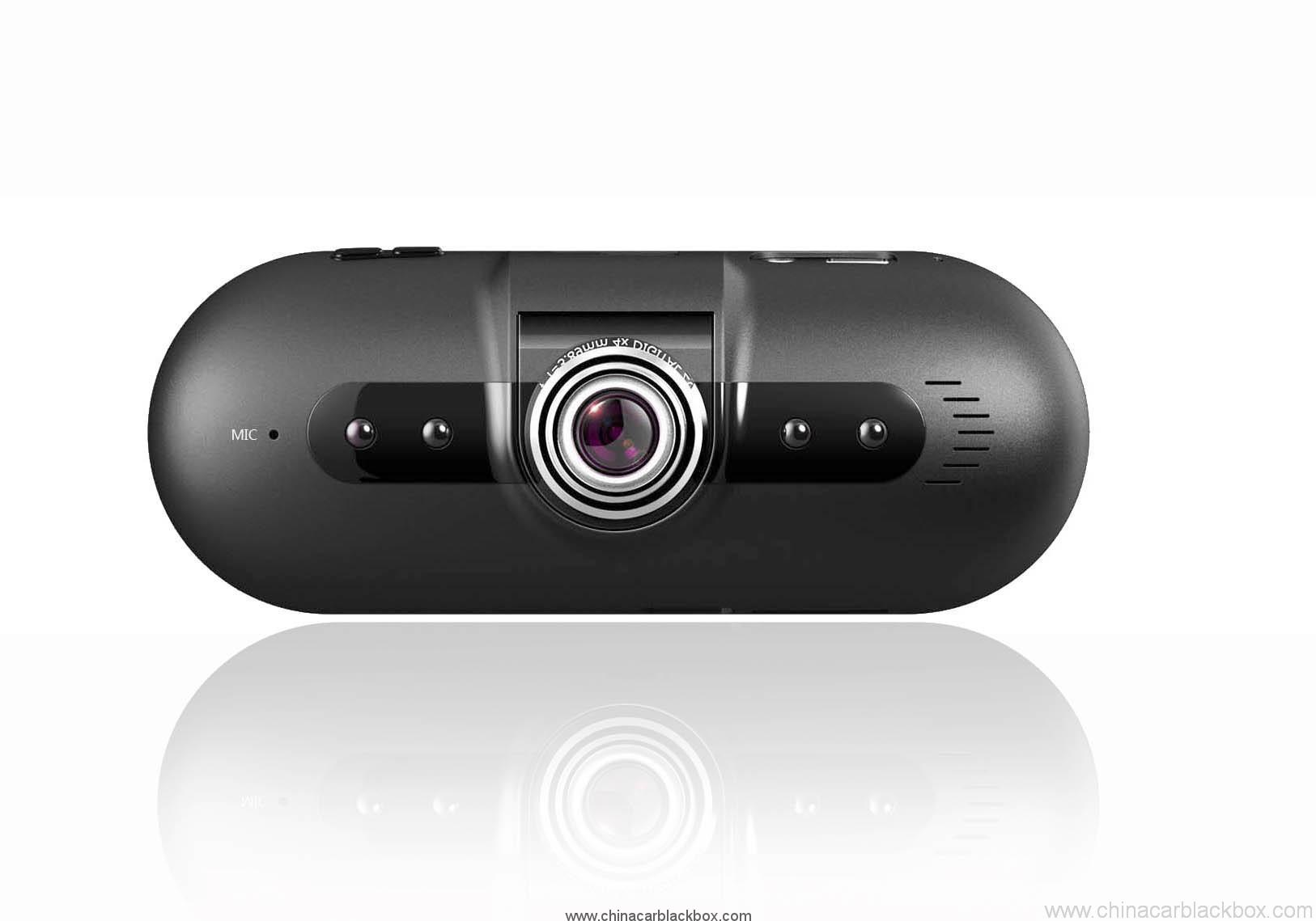 Car DVR with Built-in G-sensor for Auto-saving Undeletable Video On Colision 3