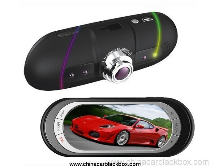 Car DVR with Built-in G-sensor for Auto-saving Undeletable Video On Colision
