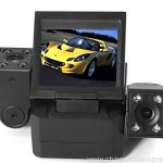 dual camera ultra-high definition wide-angle lens Car recorder 3