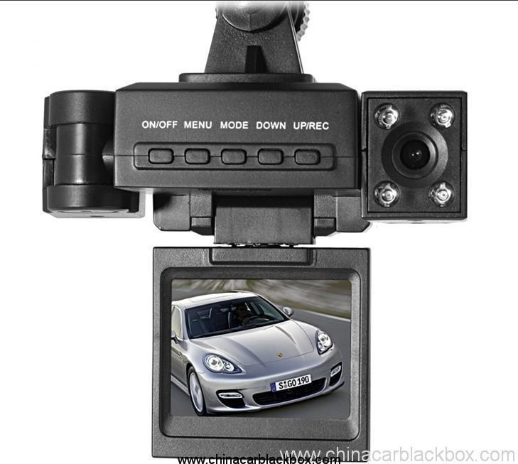 dual camera ultra-high definition wide-angle lens Car recorder