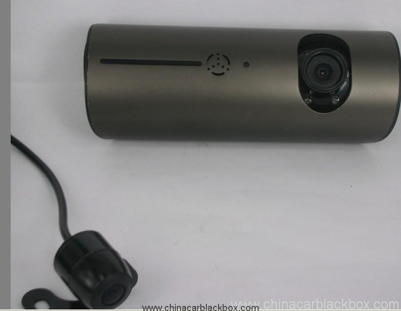 Dual camera with GPS module G-sensor Car DVR 4
