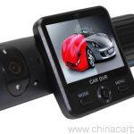 Dual Cameras Car DVR with Rotatable Lens GPS Module G-Sensor 3