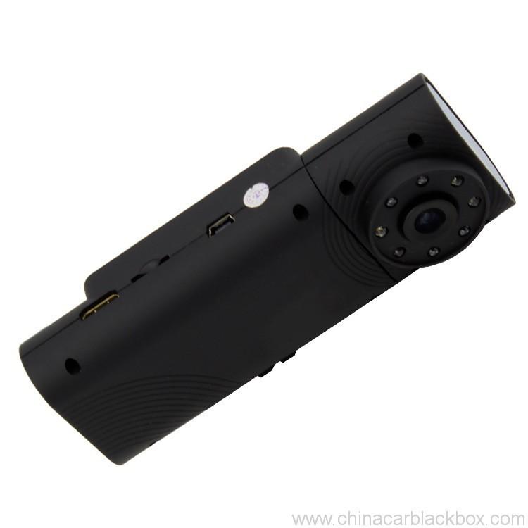 Dual Camera/Seamless video/G-sensor car DVR 5