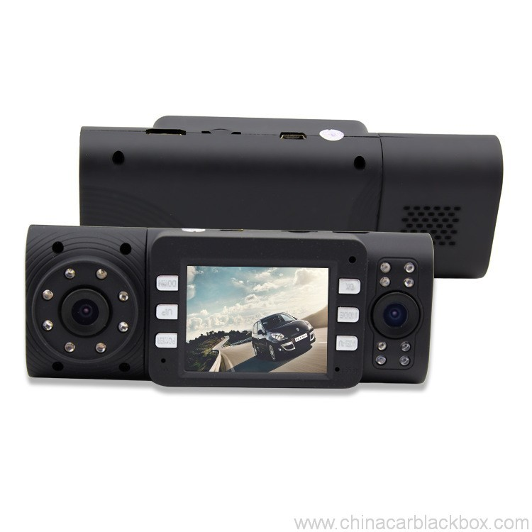 Dual Camera/Seamless video/G-sensor car DVR