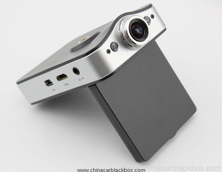 HD 720P Dual Camera Car DVR with GPS 6