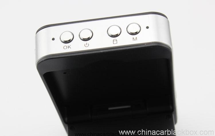 HD 720P Dual Camera Car DVR with GPS 7