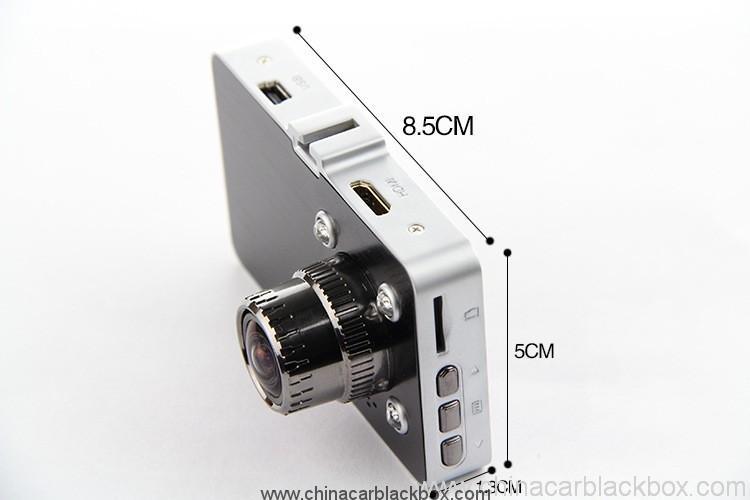 HD car dvr camera car black box with wide angle lens 3