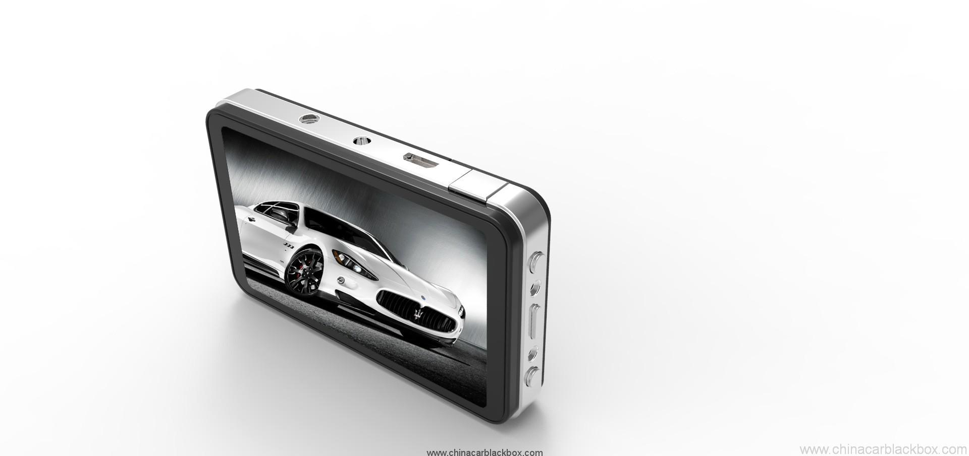 HD car dvr camera car black box with wide angle lens 4