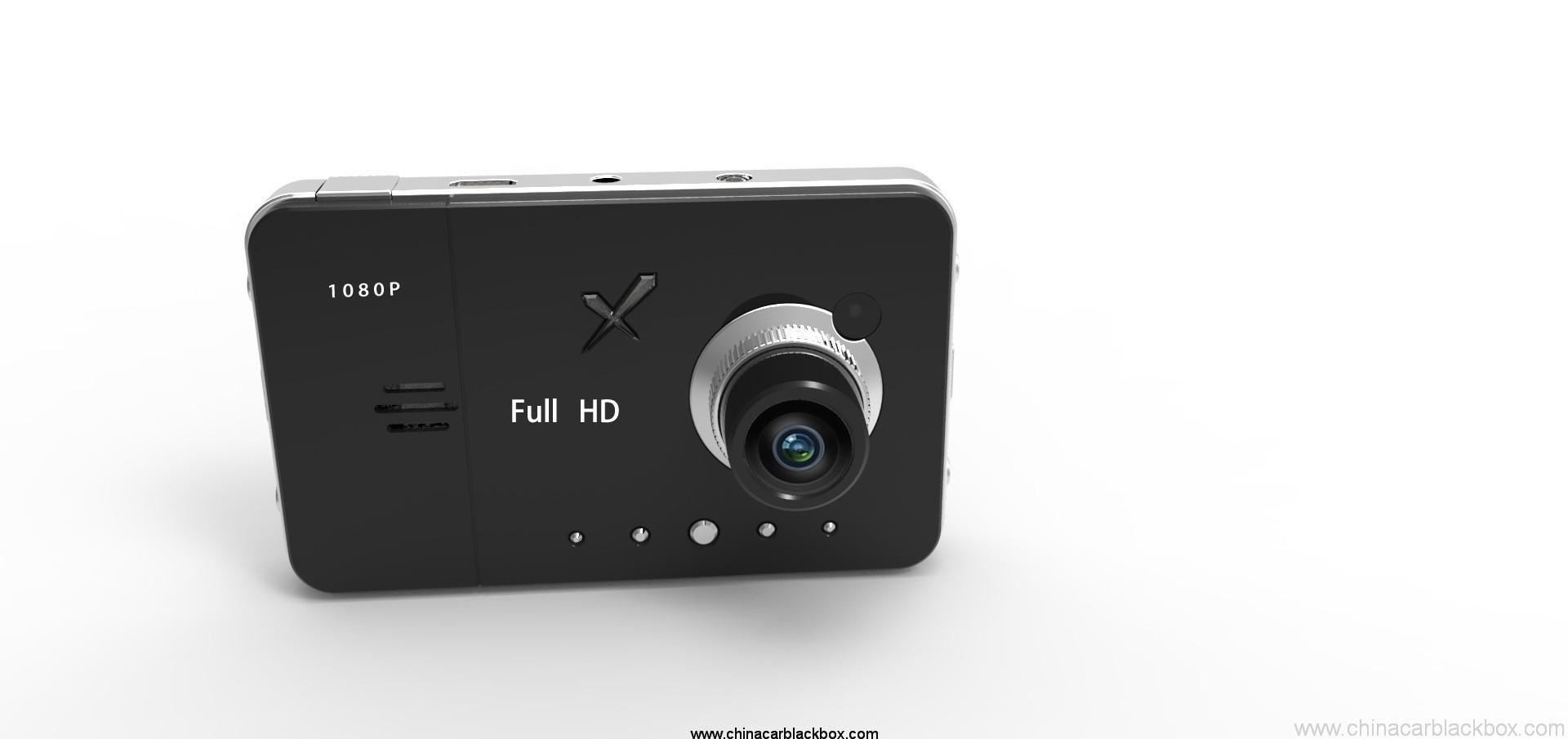 HD car dvr camera car black box with wide angle lens