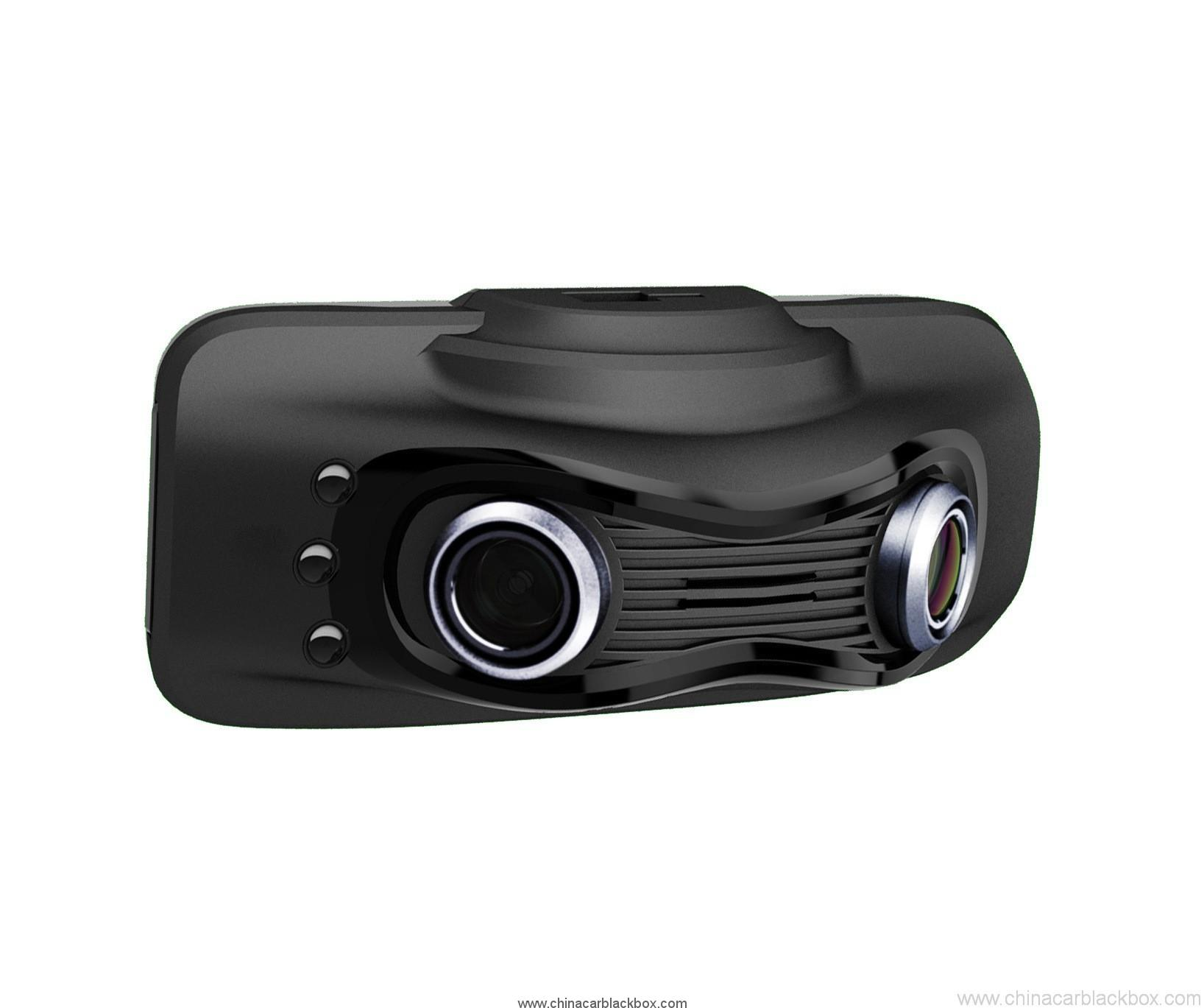 2.7inch car dvr with dual camera 230 degree wide view angle 2