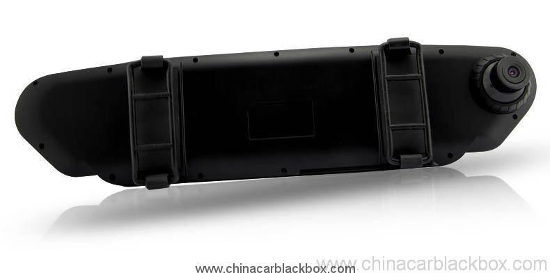 Car Rearview Mirror Camera Recorder DVR Rear view camera with G-sensor 3