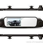 Car Rearview Mirror Camera Recorder DVR Rear view camera with G-sensor 4